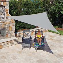 gracosy Toldo Vela de Sombra Triangular HDPE Protección Rayos UV ...