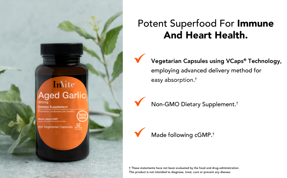 Potent superfood for immune and heart health