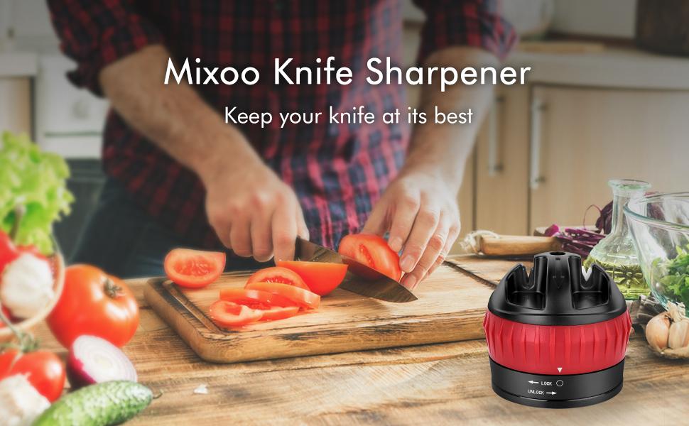 mixoo knife sharpener