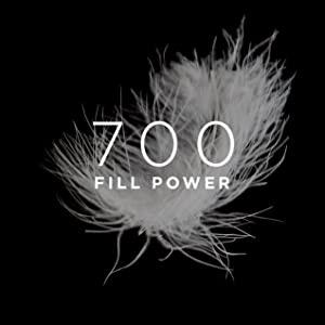 700 fill power, down
