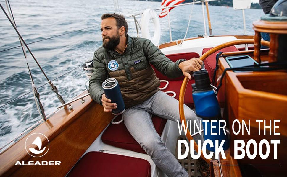 duck boots men
