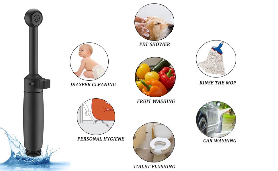 toilet sprayer attachment