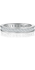 stackable rings,rings for women, cubic zirconia rings,women rings,eternity rings