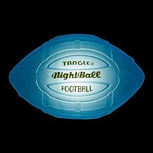 tangle nightball lightup led football glow sports accessory