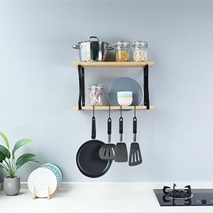 2-tier wall shelf