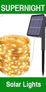 Solar Power LED String Lights