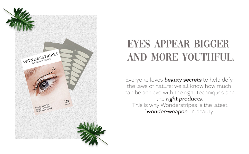 lifting strips Upper Eyelid Lifting Strips wonderstripes invisible lifting stips