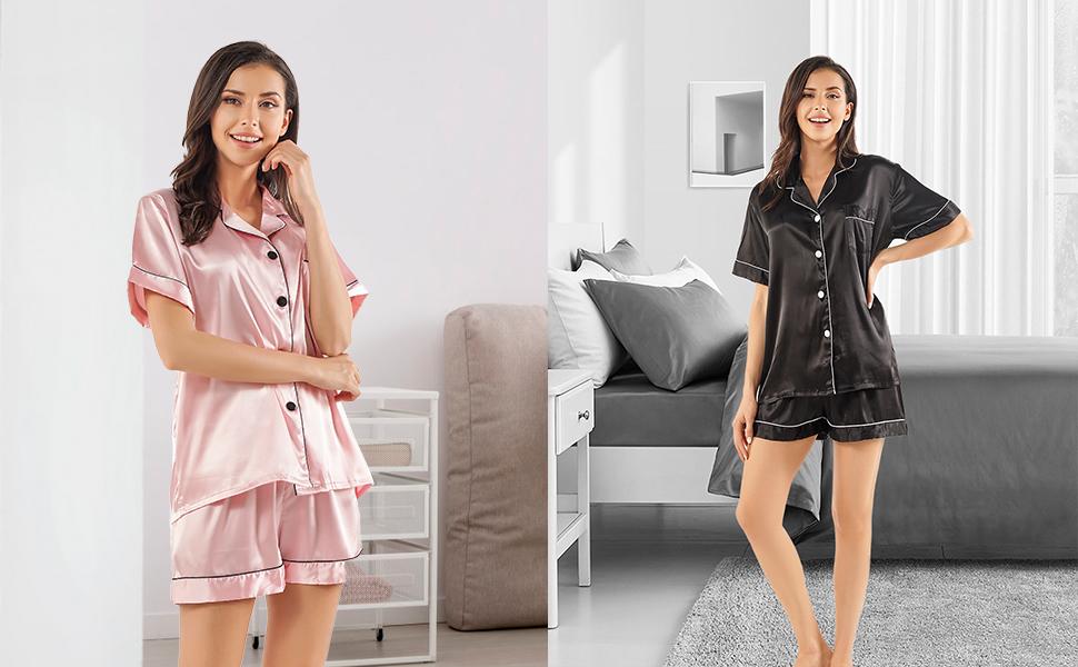 womens pajamas sets