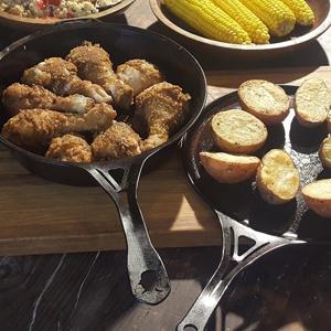 coated frying pan