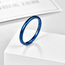 blue 2mm ring
