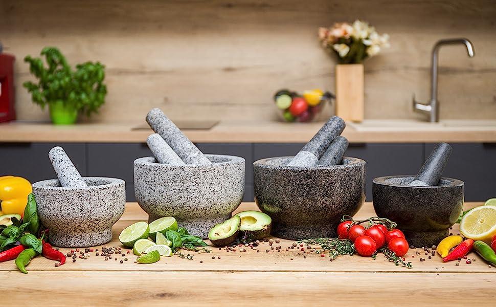 ChefSofi Mortar and Pestle Sets