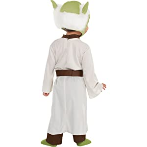 yoda robe star wars classic movie character halloween costume outer space cosplay dress up fun cute