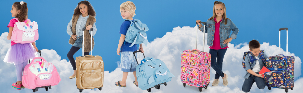 kids luggage, kids carry-on, toddler luggage, toddler carry-on, children's luggage, toddler carry-on