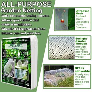 garden barrier netting