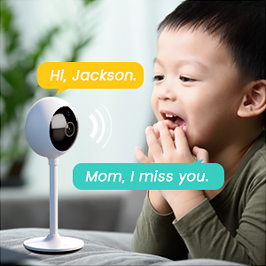 two-way audio security camera