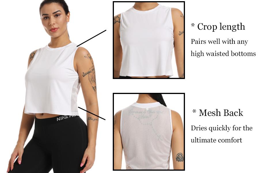 Mesh Crop Top