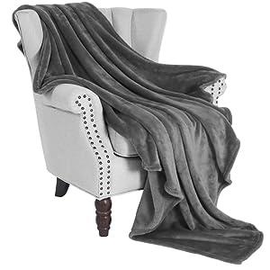 Flannel Throw grey 02