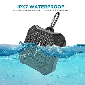 waterproof bluetooth speaker shower portable