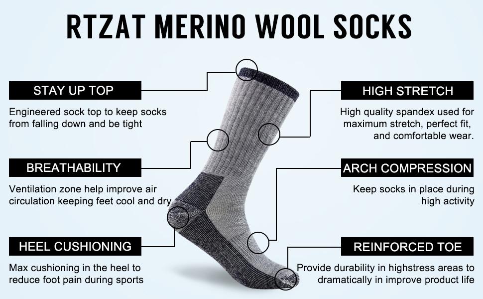 merino wool socks women work boots men hiking socks women men sport socks winter socks women