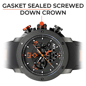gasket sealed screw down crown