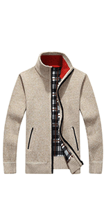 Men's Classic Soft Knitted Cardigan Sweaters