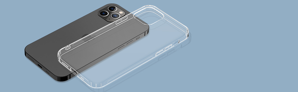 Arae iPhone 12 Pro Max clear case