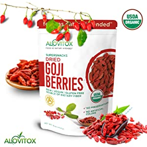 goji berries healthy antioxidants energy weight loss wolf berries organic dried berries paleo keto