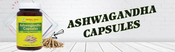 Ashwagandha Capsules Withania somnifera Ashwagandha Root Powder Mood Boost Natural Anxiety