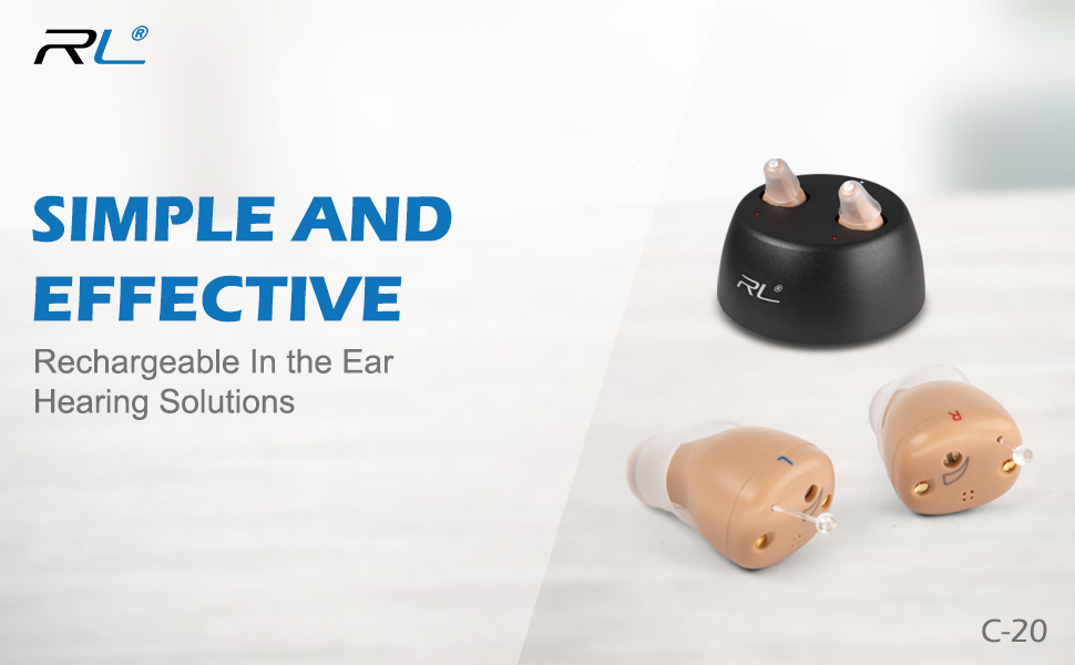 R&L C20 hearing aids