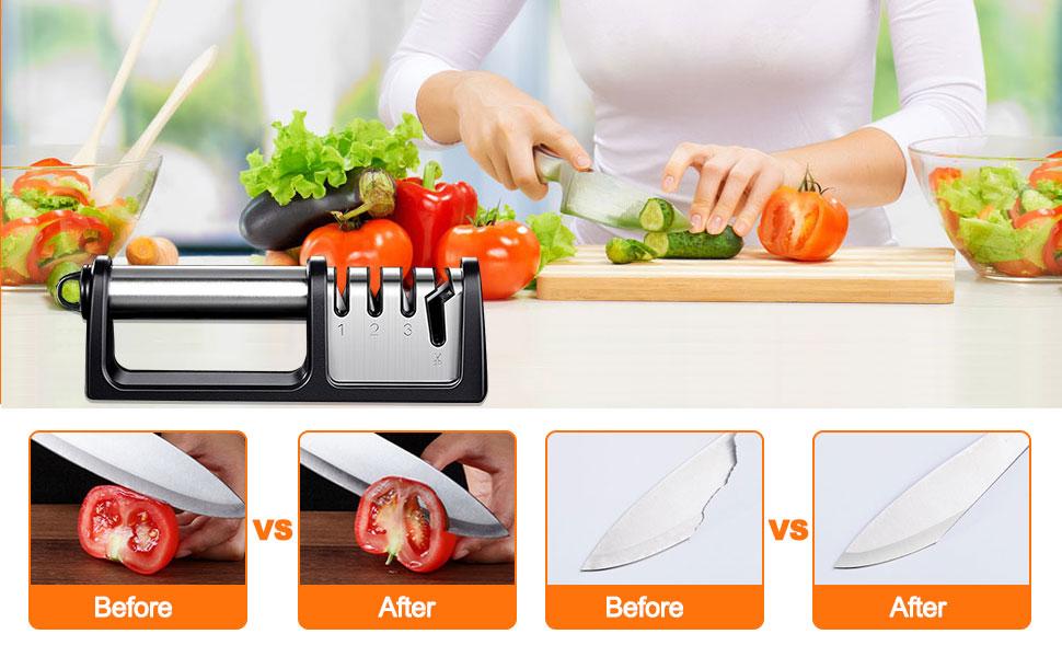 knife sharpener 3 stage knife sharpeners best hand knife sharpener pull through knife sharpener