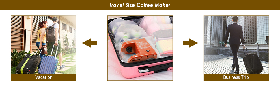 Travel Size Coffee Brewer