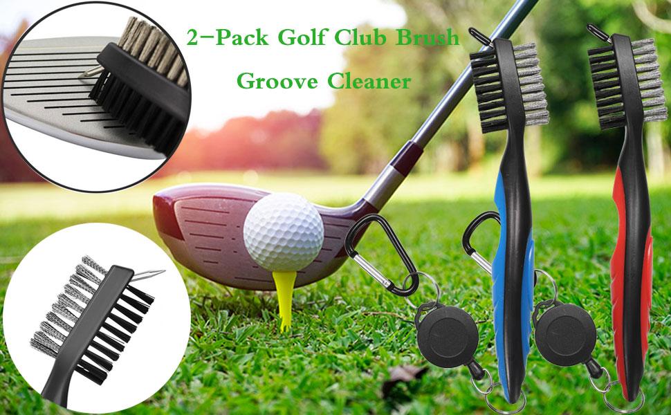 Golf Club Brush