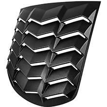 Rear Window Louvers for 2010-2016 Genesis Coupe