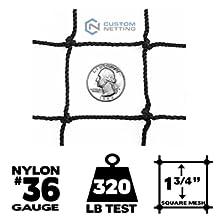 36 gauge baseball netting