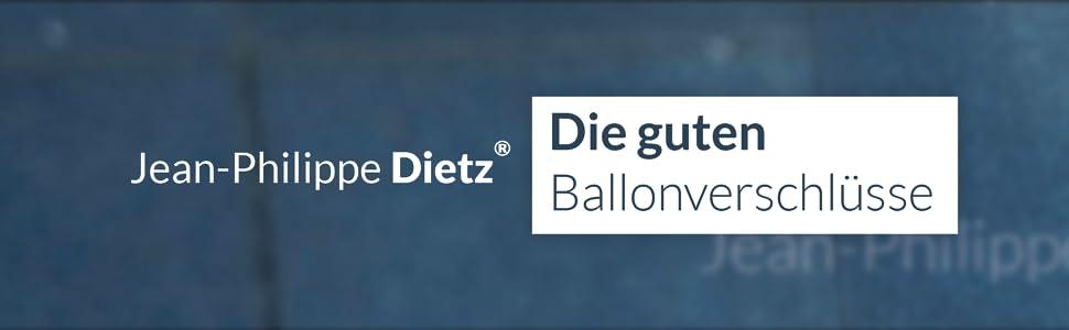 Ballonverschlüsse von Jean-Philippe Dietz Perfekt fürs Luft- und Heliumballons Ballonverschluss