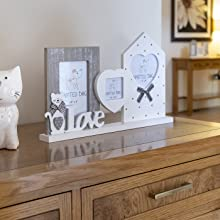 photo frames for wall multi wood picture frame love double multiple 6x4 small cat gifts women kids