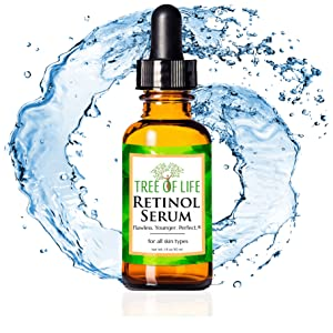 Retinol Serum for Face Anti Aging Wrinkle Moisturizer Cream for Skin Water