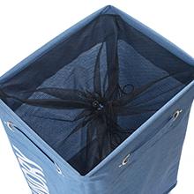 drawstring laundry basket