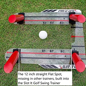 Flat Spot Slot It Swing Path Training Aid