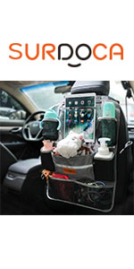 Surdoca car seat organizer