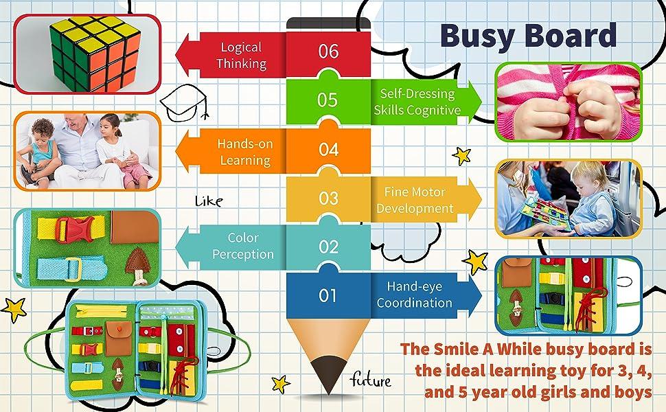 hand eye coordination Montessori toys for kids