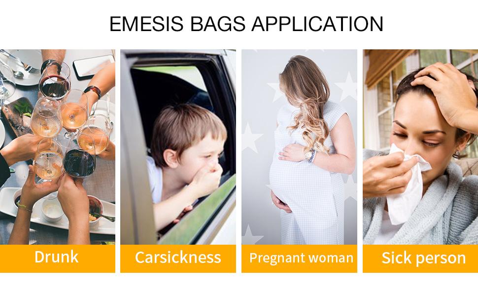 vomit bags versatile uses