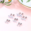 Stainless Steel Ear Stud Piercing