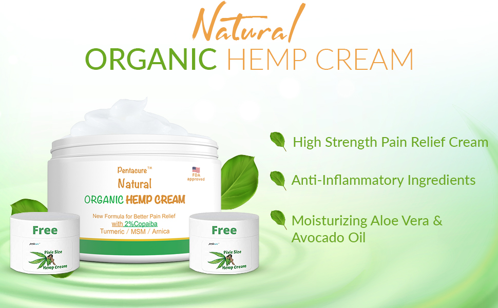 safe pain relievers 1500mg premium hemp oil extractpowerful copaibaturmericarnica MSM absorb quickly