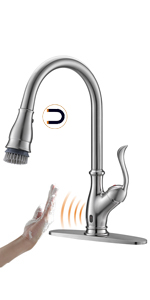 touchless kitchen sink faucet