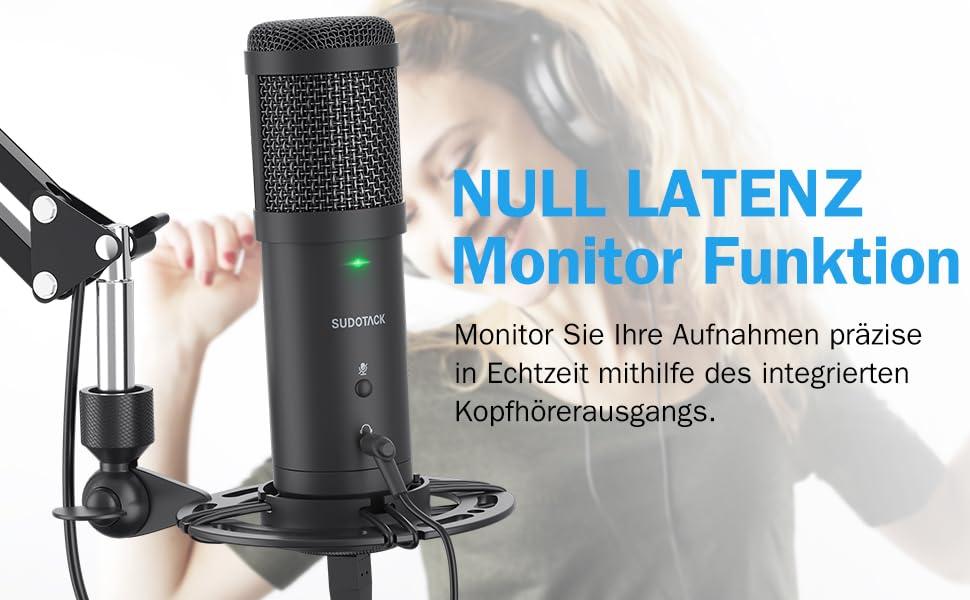 opname microfoon zingen