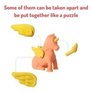 Mr. Pen- Animal Topper Erasers, 22 Pack,