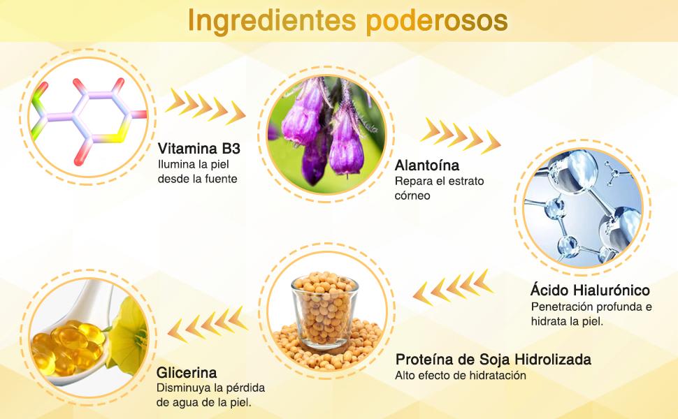 Máscaras de Tratamiento de Ojos de Oro de 24 Quilates para Hinchazón, Ojeras y Arrugas, Parche de Colágeno Debajo del Ojo, con Proteína de Soja, ...