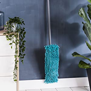 flat mop with telescopic handle