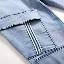 cargo pocket denim jeans denim cargo pants men cargo blue jeans multi pocket jeans men winter jeans
